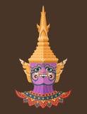 Guardião tailandês gigante, arte tailandesa Foto de Stock Royalty Free