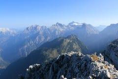 Guardi dalla cima della montagna Spicje Fotografie Stock Libere da Diritti