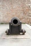 Guardi dentro il tubo di un cannone Fotografia Stock Libera da Diritti
