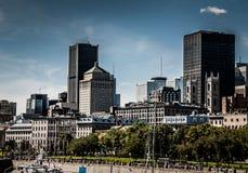 Guardi di vecchio porto di Montreal Fotografia Stock Libera da Diritti