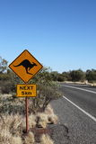 Guardi per i canguri, Australia fotografie stock libere da diritti