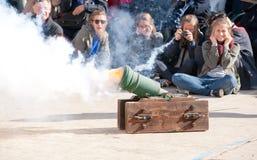 Guardia στην παρέλαση Στοκ εικόνες με δικαίωμα ελεύθερης χρήσης