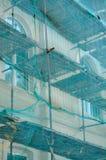 Guardia alla ricostruzione della costruzione Immagini Stock
