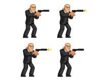 Guardia Animation Sprite del cuerpo libre illustration
