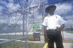 Guardia carceraria Immagini Stock