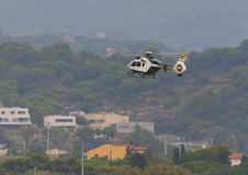Guardia Civil. Eurocopter EC135. Festa al cel (Sky Party Air show) Royalty Free Stock Image