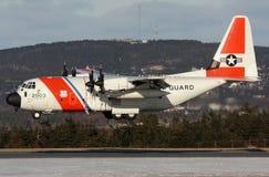Guardia costiera C130 degli Stati Uniti Immagine Stock
