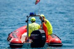 Guardia costiera spagnola fotografia stock libera da diritti
