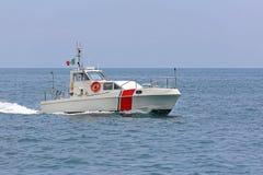 Guardia costiera Vessel Italy Immagini Stock Libere da Diritti
