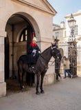 Guardia de caballo London Fotos de archivo libres de regalías