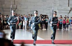 Guardia de honor en Chiang Kai-shek Memorial Hall Fotos de archivo