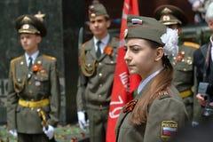 Guardia de honor en Pyatigorsk, Rusia Fotografía de archivo libre de regalías
