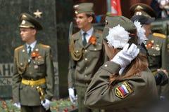Guardia de honor en Pyatigorsk, Rusia Imagenes de archivo