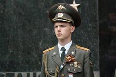 Guardia de honor en Pyatigorsk, Rusia Imágenes de archivo libres de regalías