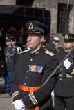 Guardia de honor militar Imagen de archivo libre de regalías