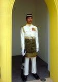 Guardia de honor, Royal Palace, Istana Negara, Kuala Lumpur Imágenes de archivo libres de regalías