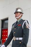 Guardia de la situación del guardia de honor de Taipei imágenes de archivo libres de regalías
