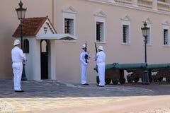 Guardia de Mónaco Foto de archivo libre de regalías