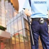 Guardia de seguridad Fotografía de archivo libre de regalías