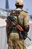 Guardia de seguridad aeroportuaria Imagen de archivo