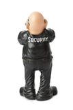 Guardia de seguridad del juguete imágenes de archivo libres de regalías