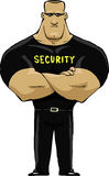 Guardia de seguridad Fotos de archivo