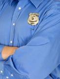 Guardia de seguridad, policía, aplicación de ley Foto de archivo