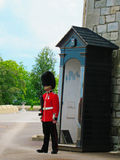 Guardia de vida de la reina en la torre de Londres Imagen de archivo