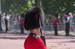 Guardia del Buckingham Palace Imágenes de archivo libres de regalías