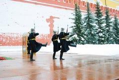 Guardia del cambio del honor Foto de archivo libre de regalías