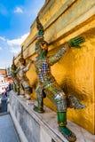 Guardia del demone palazzo del kaew di Wat Phra di grande Fotografie Stock Libere da Diritti