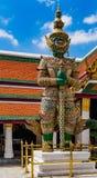 Guardia del demonio del palacio magnífico del kaew de Wat Phra Fotografía de archivo libre de regalías