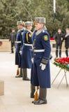 Guardia del honor en el carril de los mártires Imagen de archivo