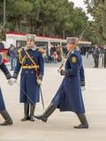 Guardia del honor en el carril de los mártires Fotografía de archivo