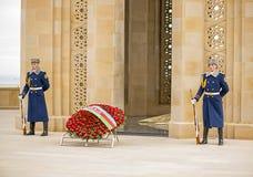 Guardia del honor en el carril de los mártires Foto de archivo libre de regalías