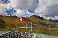 Guardia di bestiame nelle montagne tirolesi Immagine Stock Libera da Diritti