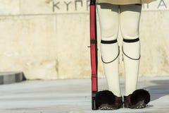 Guardia di Evzoni Fotografia Stock Libera da Diritti