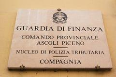 Guardia di Finanza Stock Photo