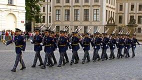 Guardia di onore in abito da sera Fotografia Stock Libera da Diritti