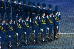 Guardia di onore Armed Forces della Repubblica Bielorussa Fotografie Stock Libere da Diritti