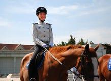 Guardia forestale femminile Fotografia Stock