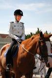 Guardia forestale femminile Immagini Stock