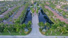 Guardia House alla Comunità Gated di Florida Fotografie Stock