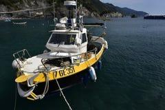 Guardia italiano Boat Imagen de archivo