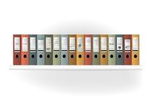 Guardia-libro Estante de la carpeta Imagen de archivo libre de regalías