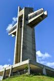 Guardia notturna Cross in Ponce, Porto Rico Immagini Stock