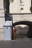 Guardia papal suizo Imagenes de archivo