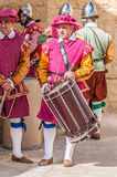 In Guardia Parade at St. Jonh's Cavalier in Birgu, Malta. Stock Photography