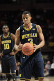 Guardia Trey Burke del Michigan Immagini Stock