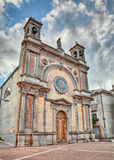 Guardiagrele Chieti, Abruzzo, Italien: kyrka av Santa Maria del Royaltyfri Bild